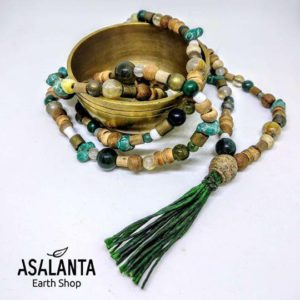 Forest Mala Necklace